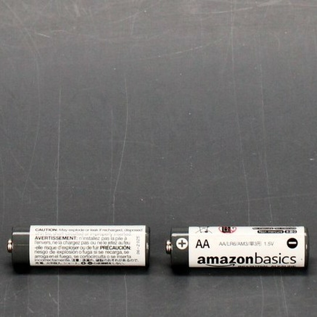 Alkalické baterie Amazon Basics AA 40ks