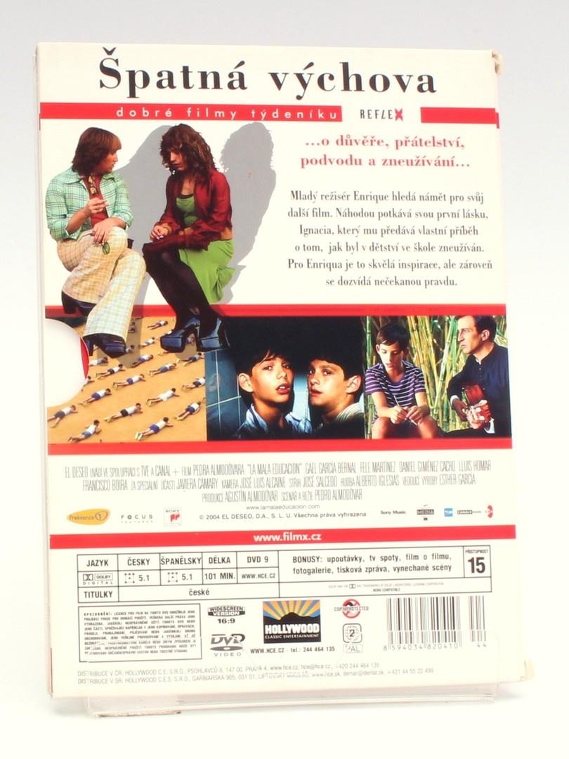 DVD Špatná výchova
