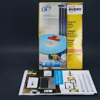 Etikety na CD Avery L6043
