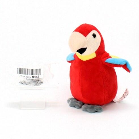Plyšový papoušek Kogler 75631