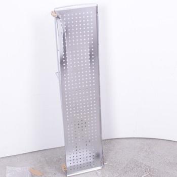 Police ke dřezu kov 78 x 12 x 18 cm