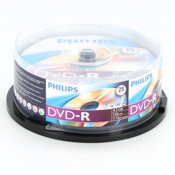 DVD-R Philips 4,7 GB / 120 min
