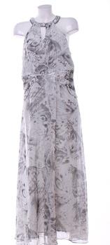Dámské plesové šaty F&F odstín šedé