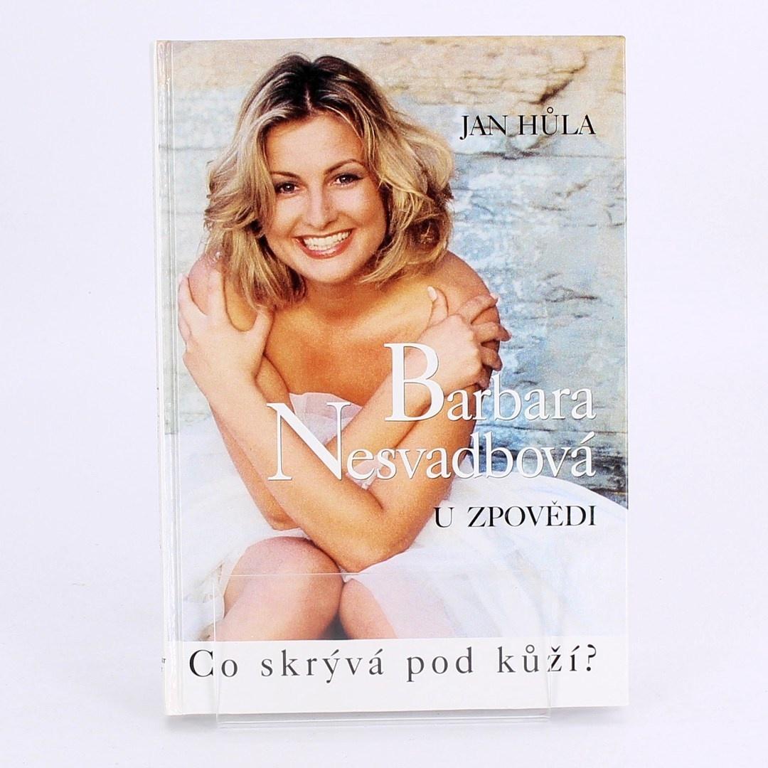Kniha U zpovědi Barbara Nesvadb