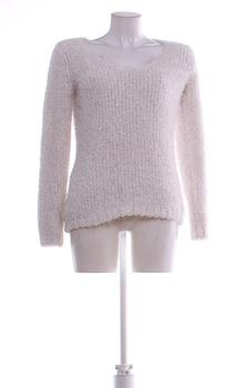 Dámský zimní svetr F&F bílý