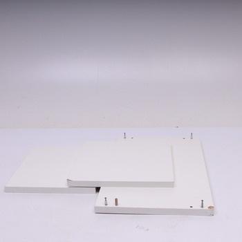 Konferenční stolek dřevotříska bílý 60x36 cm