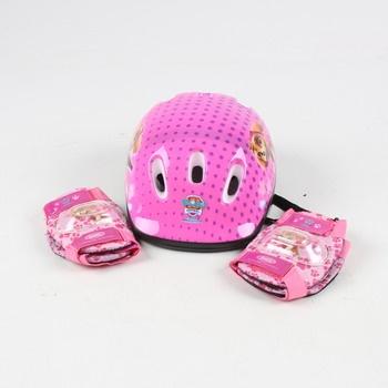 Dětská helma Spin Master Paw Patrol růžová