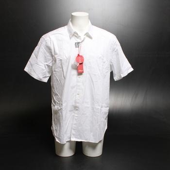 Pánská košile s.Oliver bílá
