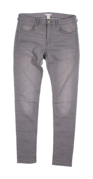 Dámské džíny H&M šedé barvy