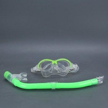 Potápěčský set Cressi Snorkeling set zelený