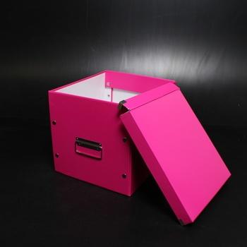 Úložný box Leitz 61080023 růžový