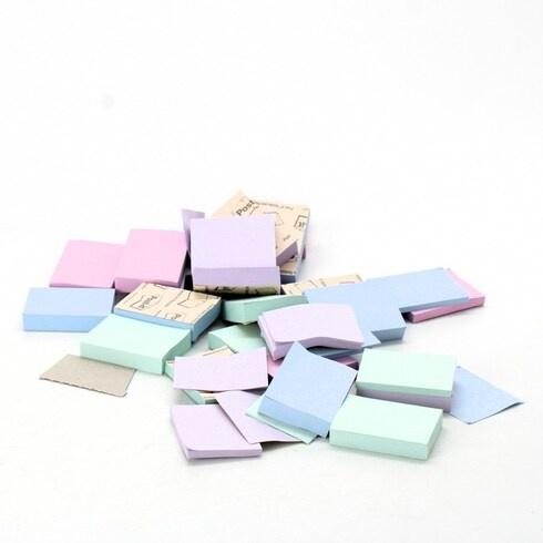14 balíčků lepících papírků Post-it