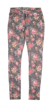 Dámské plátěné kalhoty Only květinové