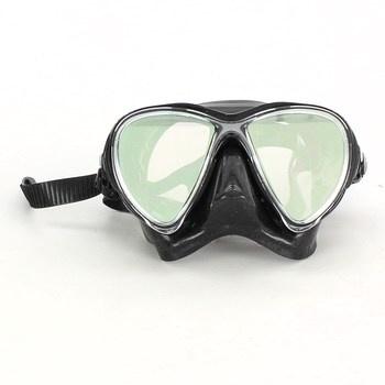 Potápěčské brýle Cressi Black
