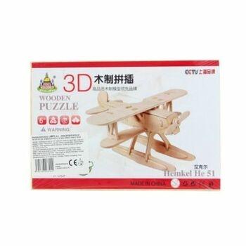 Dřevěné 3D puzzle Lamps JI-052 letadlo