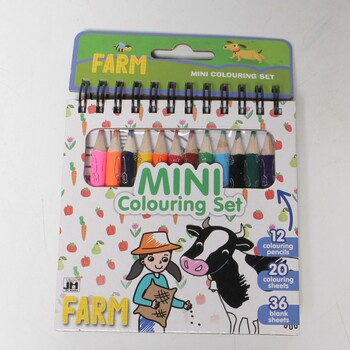 Jiri Models Mini set s pastelkami Farma
