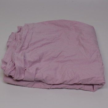 Povlak na peřinu růžové barvy