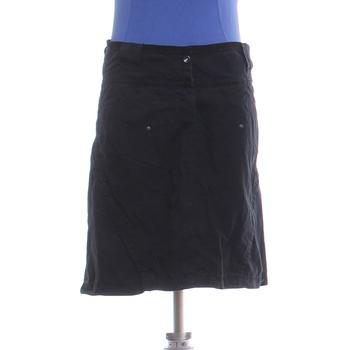 Dámská černá sukně na zapínání Mexx