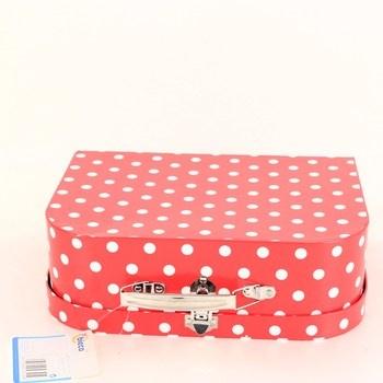 Dětský kufřík Bieco puntíkovaný