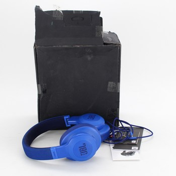 Bezdrátová sluchátka JBL E55BT blue