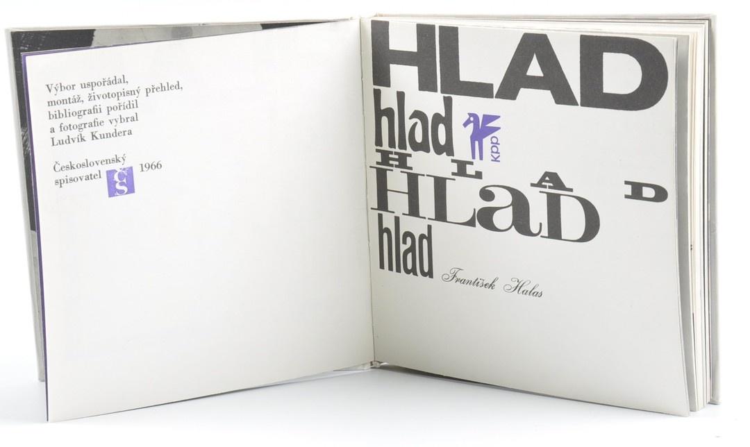 Kniha L. Kundera: Hlad