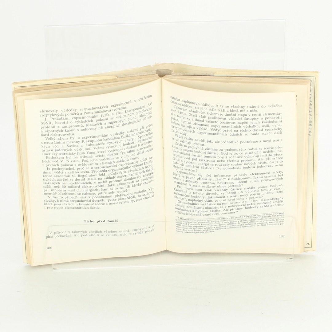 Naučná kniha Neklidné neviditelno