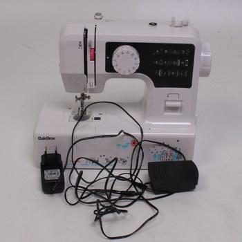 Šicí stroj OakOme bílé barvy