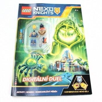 Kniha Lego Nexo Knights Digitální duel