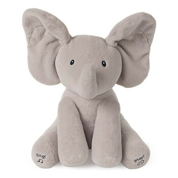 Interaktivní plyšák Gund Flappy elephant