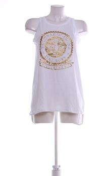 Dámský top bílý s mandalou Trussardi