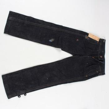 Dámské džíny Replay černé barvy