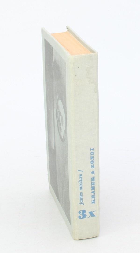 Kniha James McClure: Třikrát Kramer a Zondi
