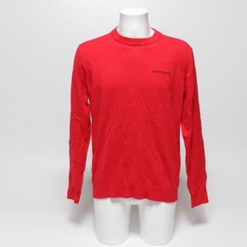 Pánský svetr Calvin Klein Jeans červený XL