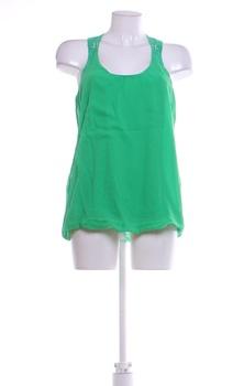 Dámský top Tchibo zelené barvy