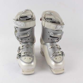 Lyžařské boty Atomic Comfort Fit šedobílé