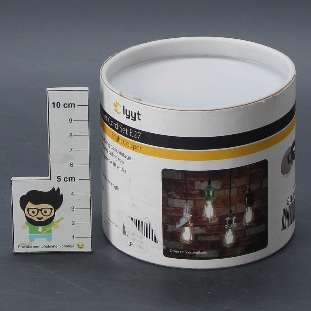 Stropní svítidlo Lyyt PHE27-CPR