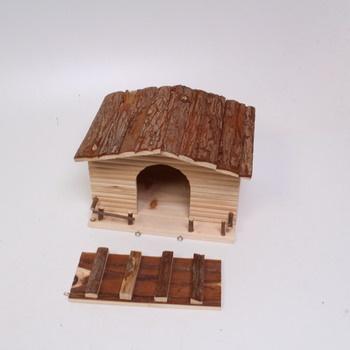 Dřevěný domeček Kerbl 82747 pro hlodavce