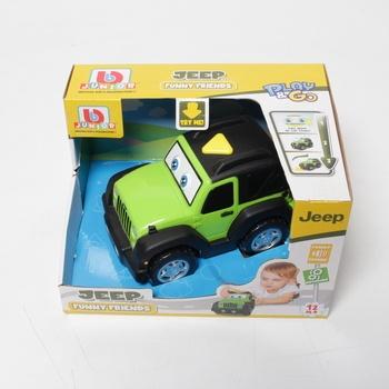 Auto Ep Line Jeep s hýbacíma očima