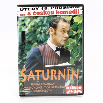 DVD film: Saturnin humoristický román