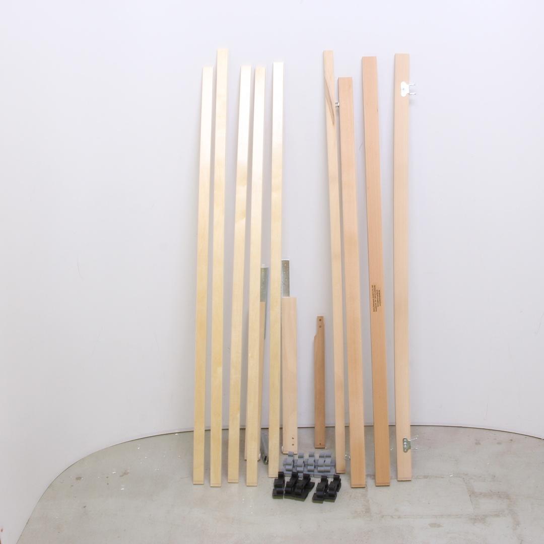 Dřevěný rošt na postel 200x140