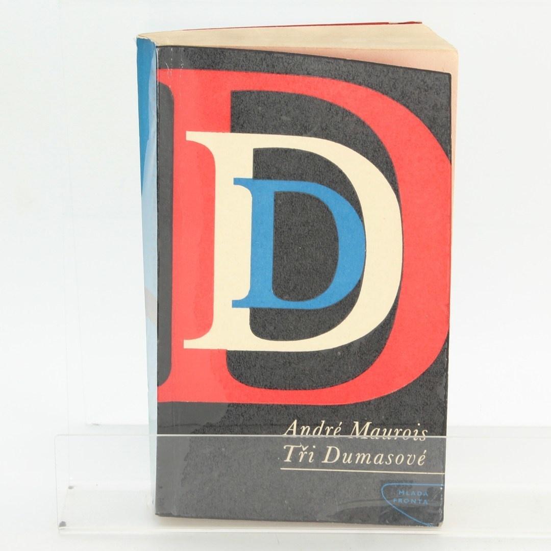Historická kniha Tři Dumasové
