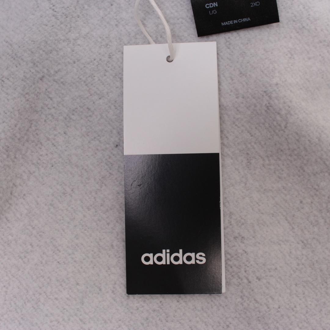 Pánská mikina Adidas Essentials šedá