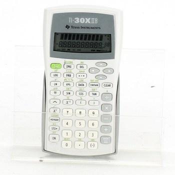 Kalkulačka Texas Instruments 30XIIB stříbrná