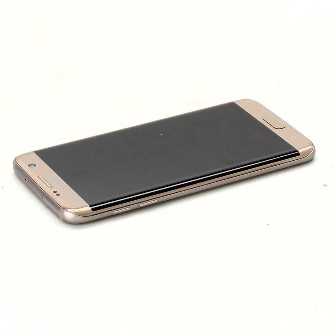 Mobilní telefon Samsung Galaxy S7 edge zlatý