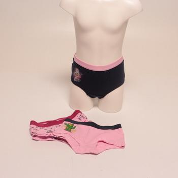 Dívčí spodní prádlo růžové barvy 3ks