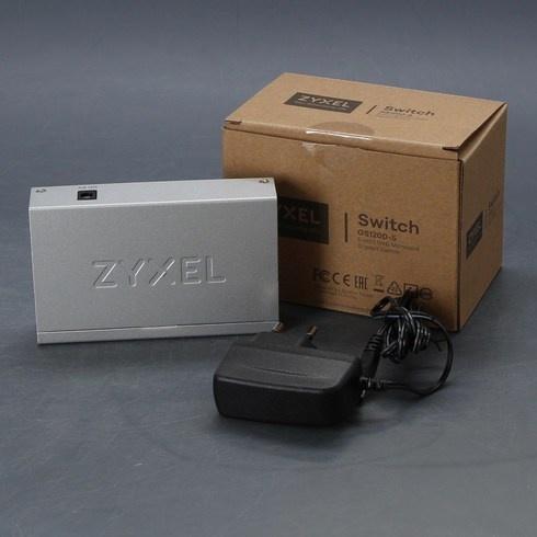 Switch ZyXel GS 1200-5 bílý