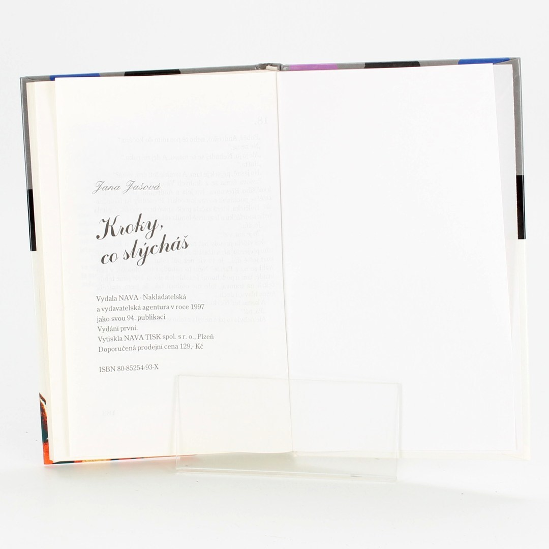 Kniha Kroky, co slýcháš