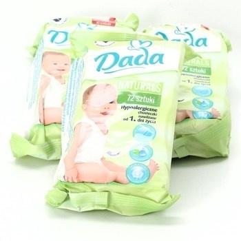 Dětské vlhčené ubrousky Dada 3 balení