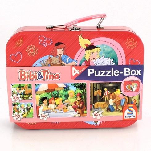 Dětské puzzle Schmidt 56509 Bibi & Tina