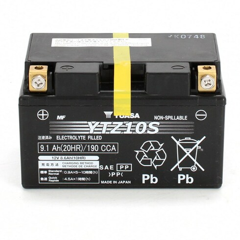 Baterie Yuasa YTZ10S 12V 8,6Ah